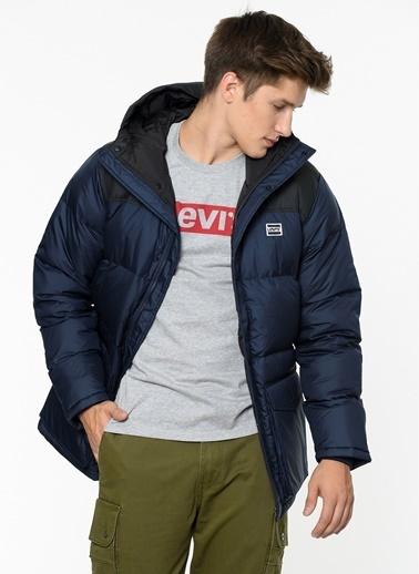 Levi's® Doğal Tüy Dolgulu Mont Mavi